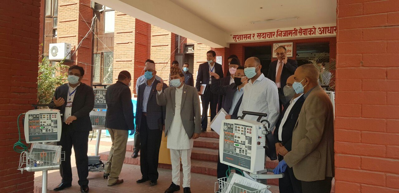 INGOs in Nepal lend a helping hand to fight Covid-19